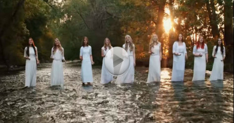 Watch as they sing a beautiful rendition of amazing grace – So Divine