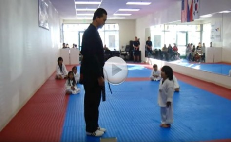 Breaking A Board In Taekwondo Is Hard To Do. He Won't Give Up.