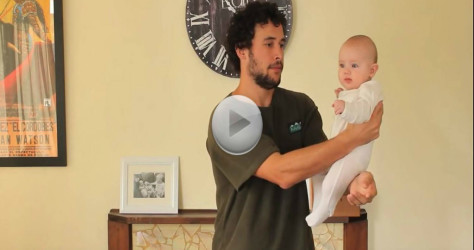 He Shows Dads Different Ways To Hold A Baby – This is Hysterical