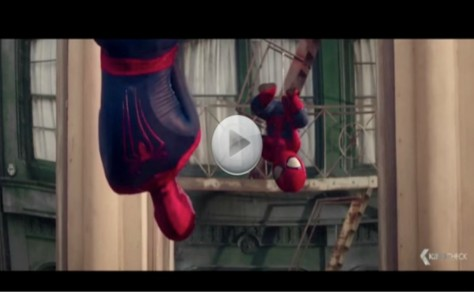 Spiderman Discovers His Reflection Is A Baby.  Then Baby Spidy does this…